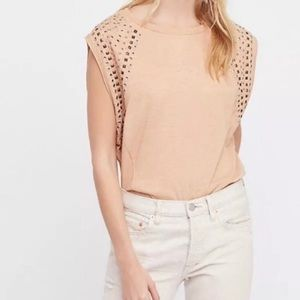 Free People We the Free embellished muscle top
